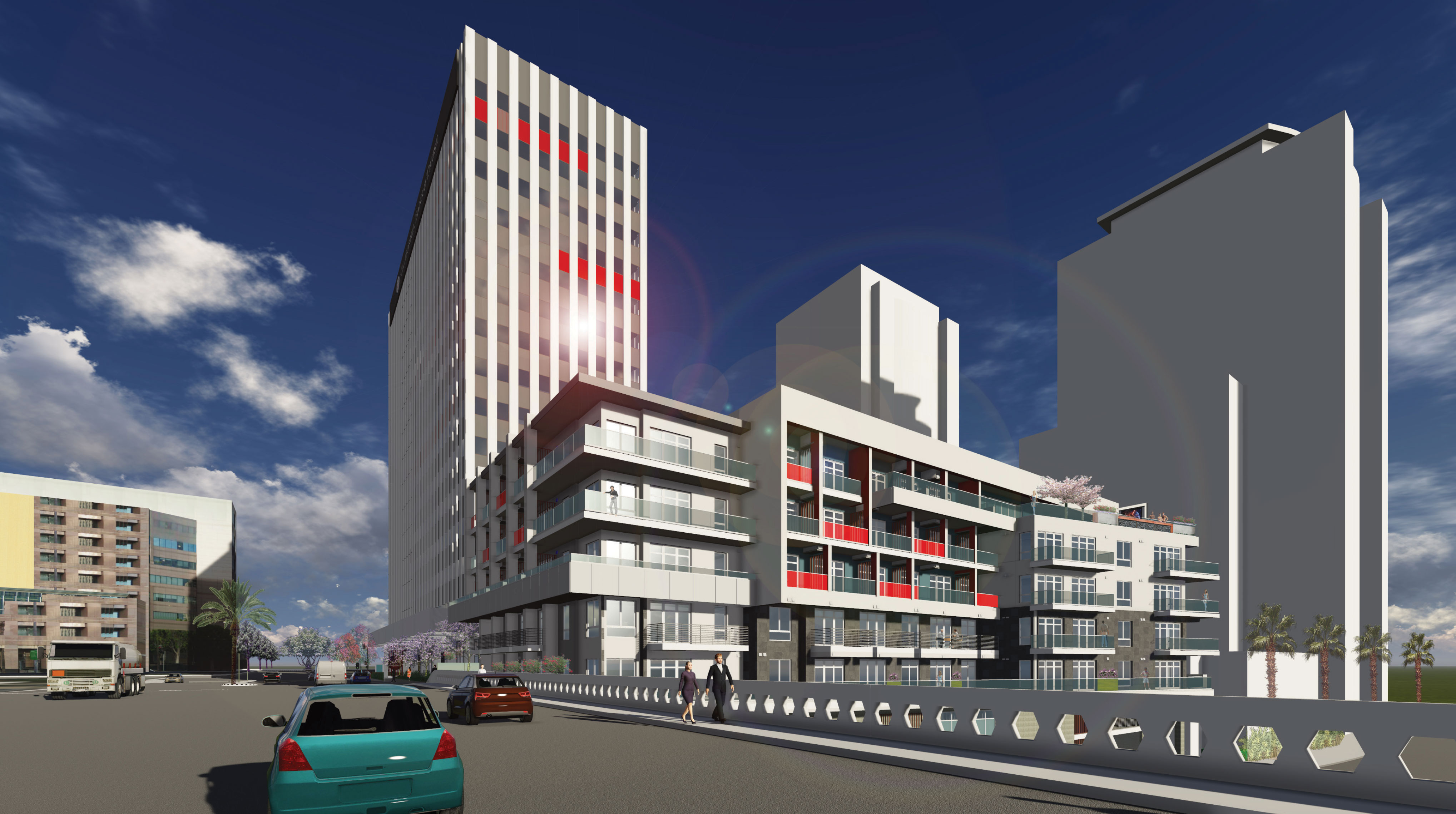 442 W. Ocean Blvd. Renderings