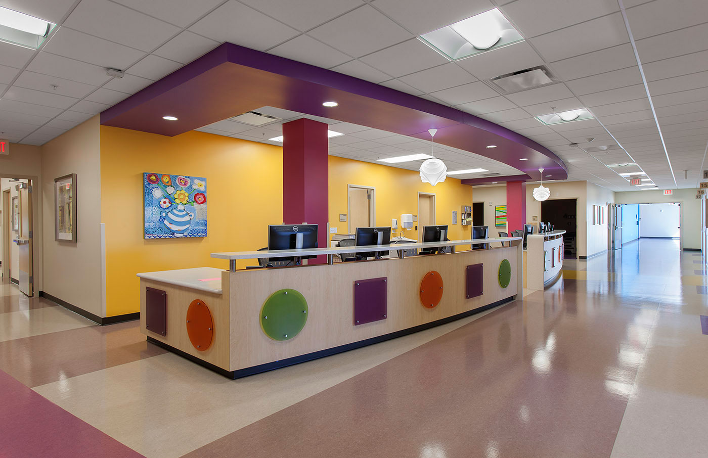 Phoenix Children's Hospital Nurses Station