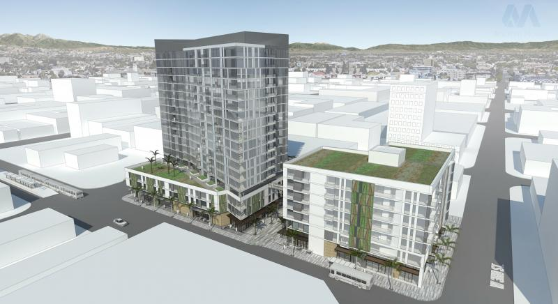 3rd and Pacific Rendering