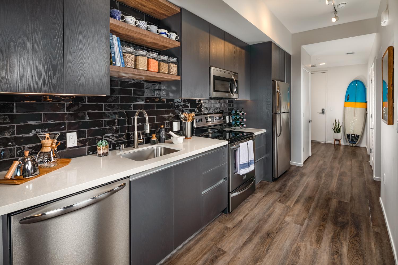 442 Residences Kitchen