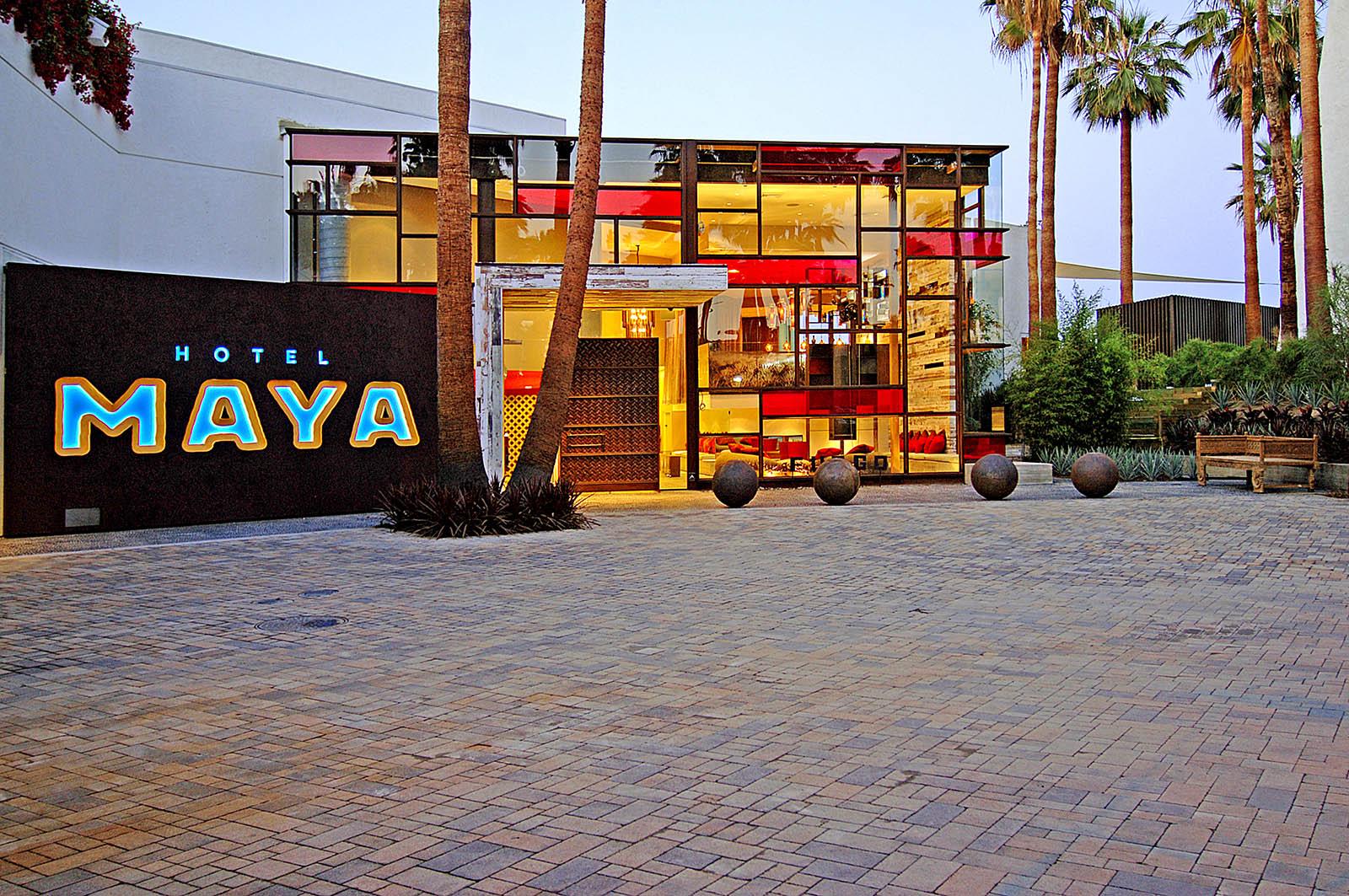 Hotel Maya Exterior.