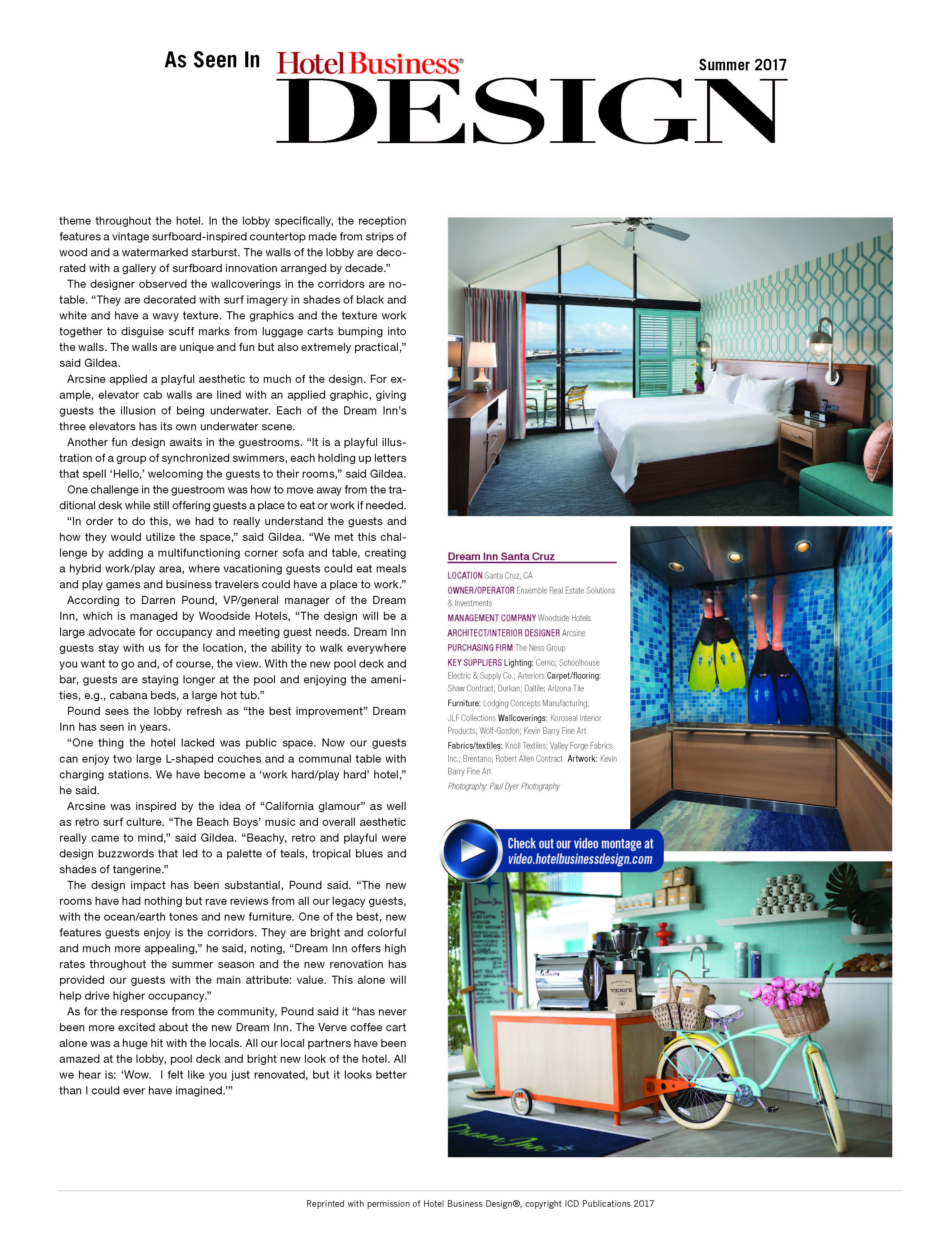 Dream Inn Hotel Business Design Page 2